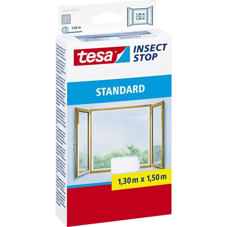 Tesa Standard raamhor wit 1,5 x 1,3 m