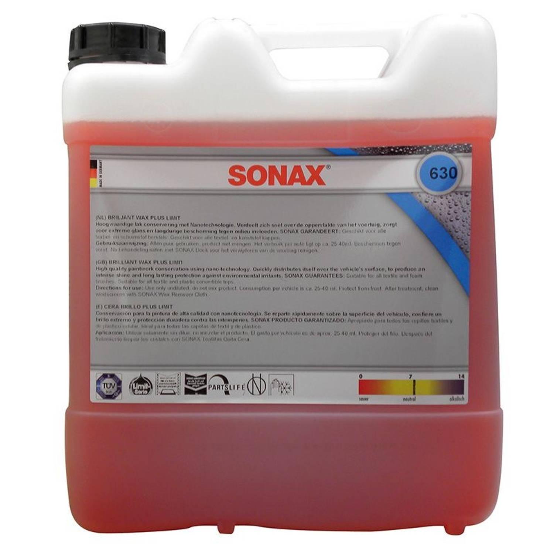 Sonax Briljant Wax Plus 10 liter (630.600)