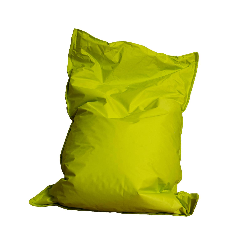 Bolletjes Voor Zitzak.Drop Sit Zitzak 150 X 100 Cm Lime Blokker