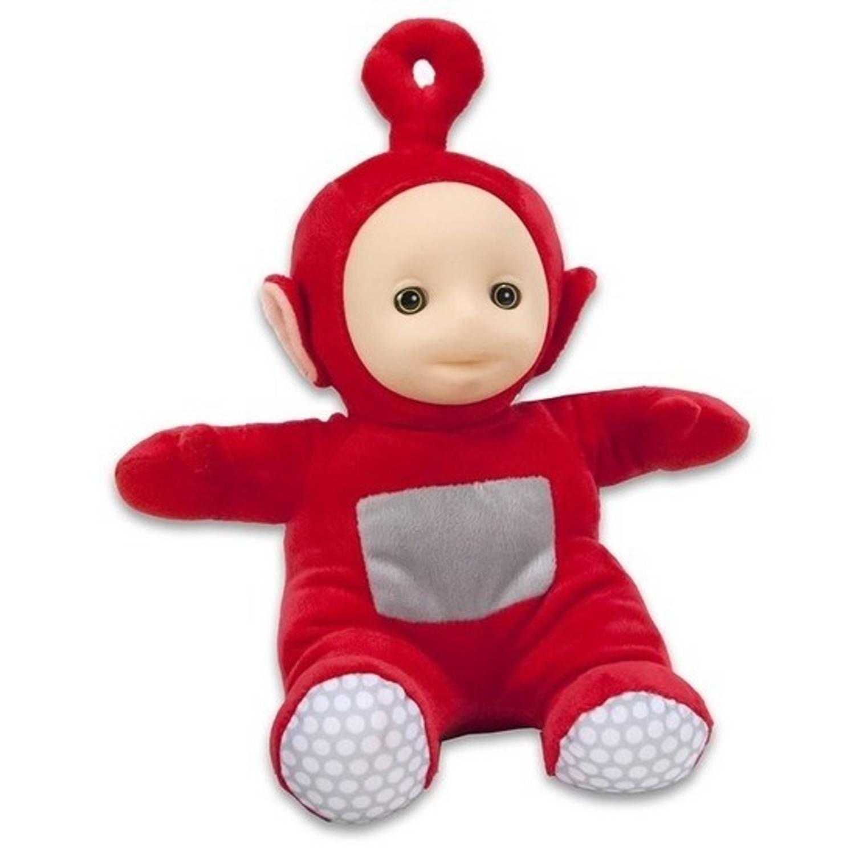 Rode Teletubbie Po knuffel-pop 26 cm