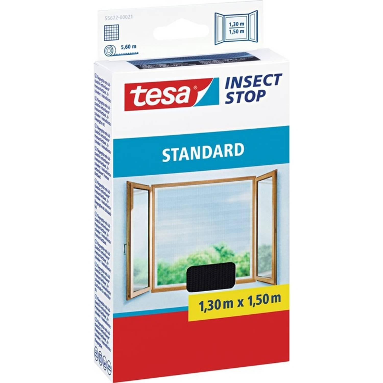 Tesa Standard raamhor zwart 1,3 x 1,5 m