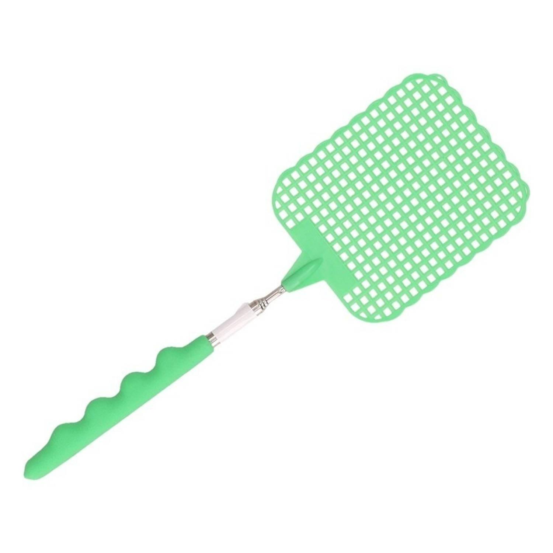 Korting Uitschuifbare Vliegenmepper Groen 60 Cm