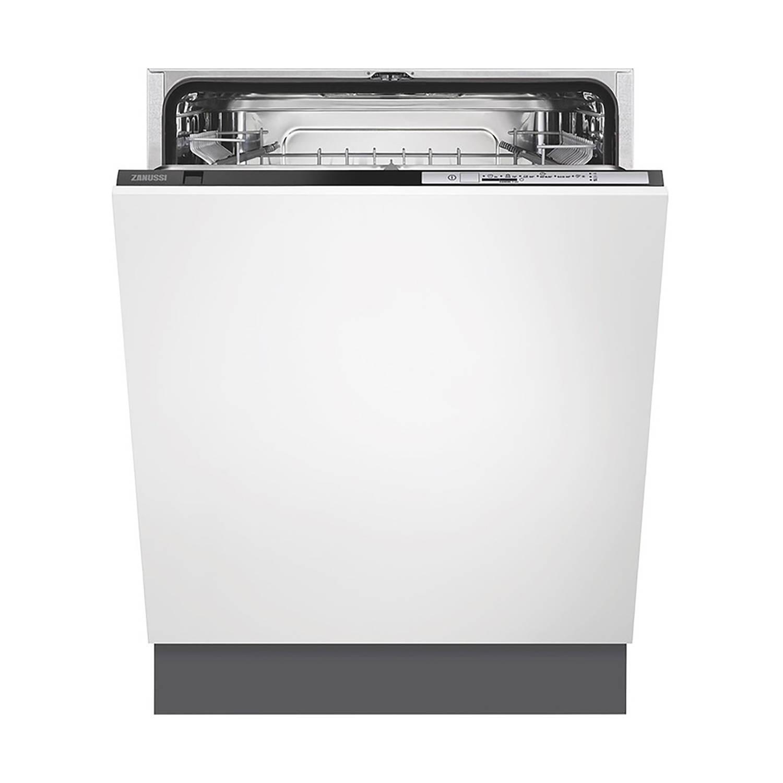 Zanussi ZDT22004FA vaatwassers 60 cm - Zwart
