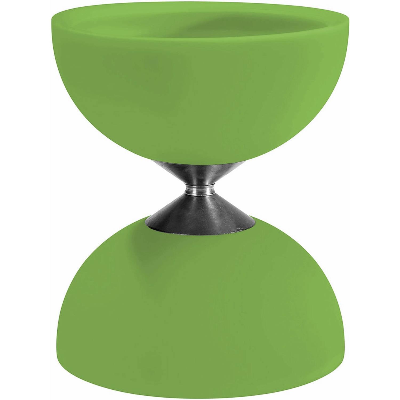 Afbeelding van Acrobat diabolo 105 rubber 12 x 10,5 cm groen
