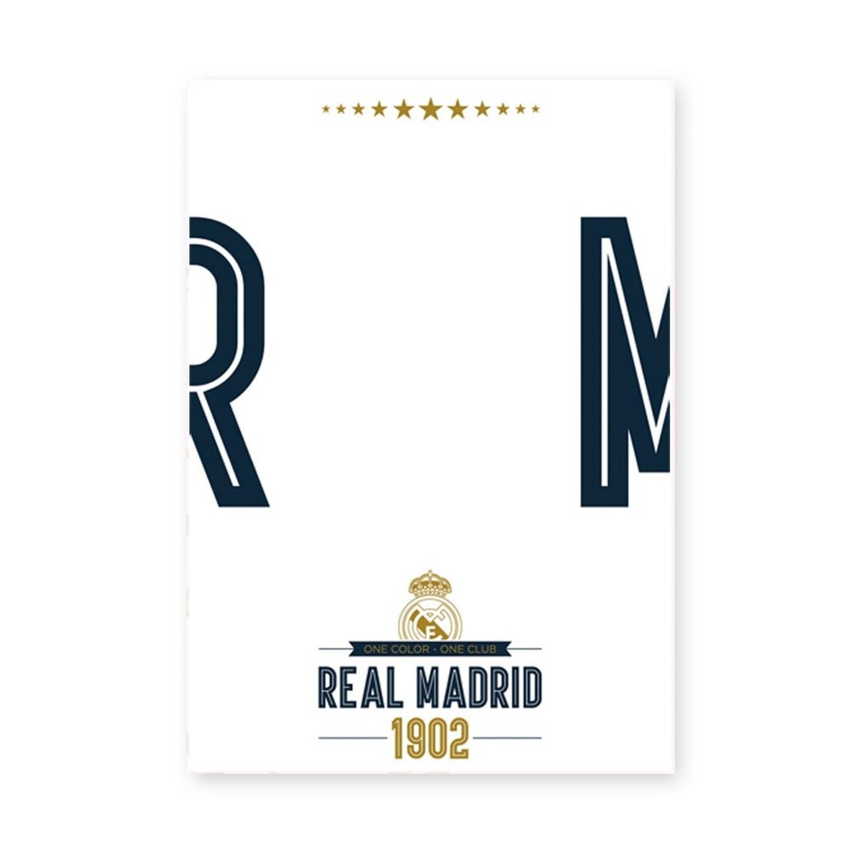 Real Madrid whiteboard muursticker Logo 50 x 70 cm