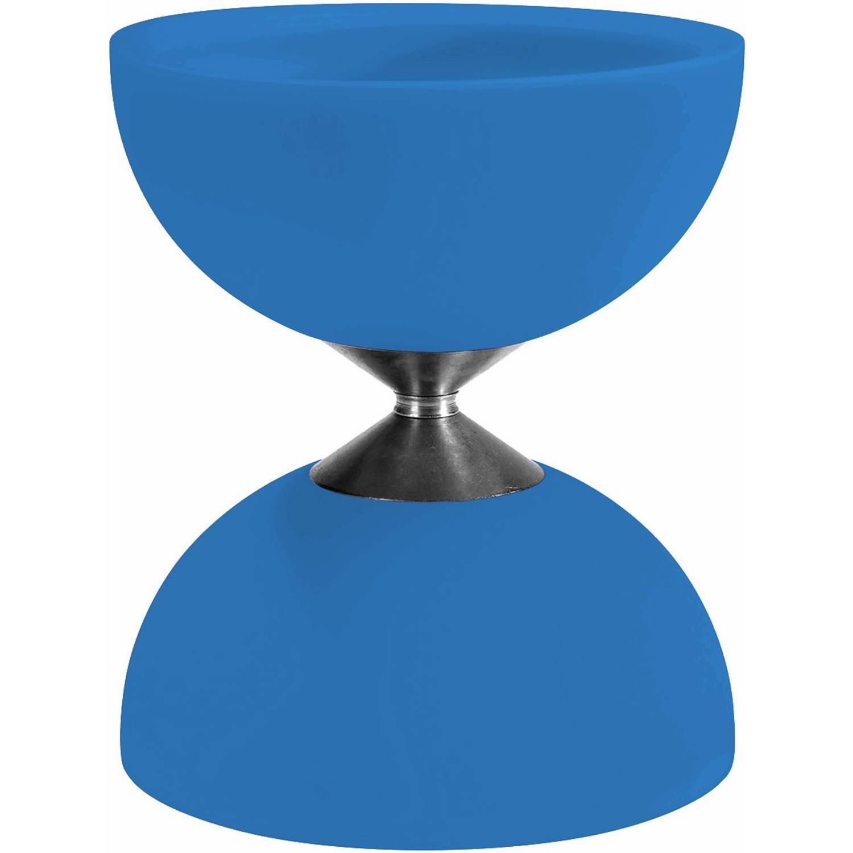 Afbeelding van Acrobat diabolo 105 rubber 12 x 10,5 cm lichtblauw