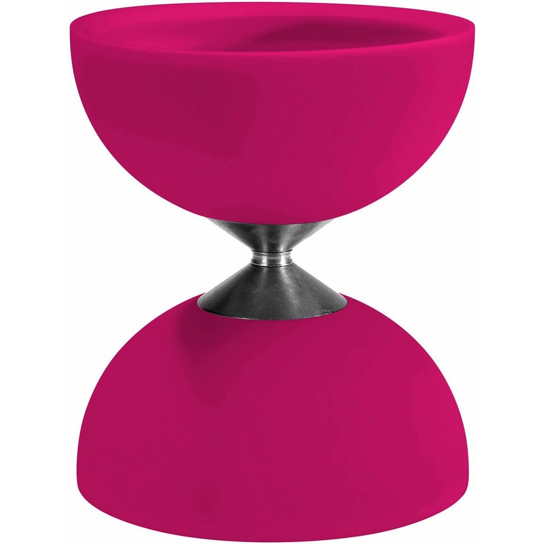 Afbeelding van Acrobat diabolo 105 rubber 12 x 10,5 cm roze