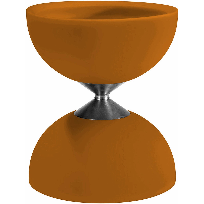 Afbeelding van Acrobat diabolo 105 rubber 12 x 10,5 cm oranje