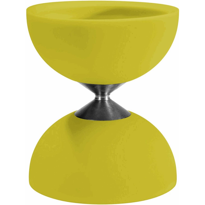 Afbeelding van Acrobat diabolo 105 rubber 12 x 10,5 cm geel