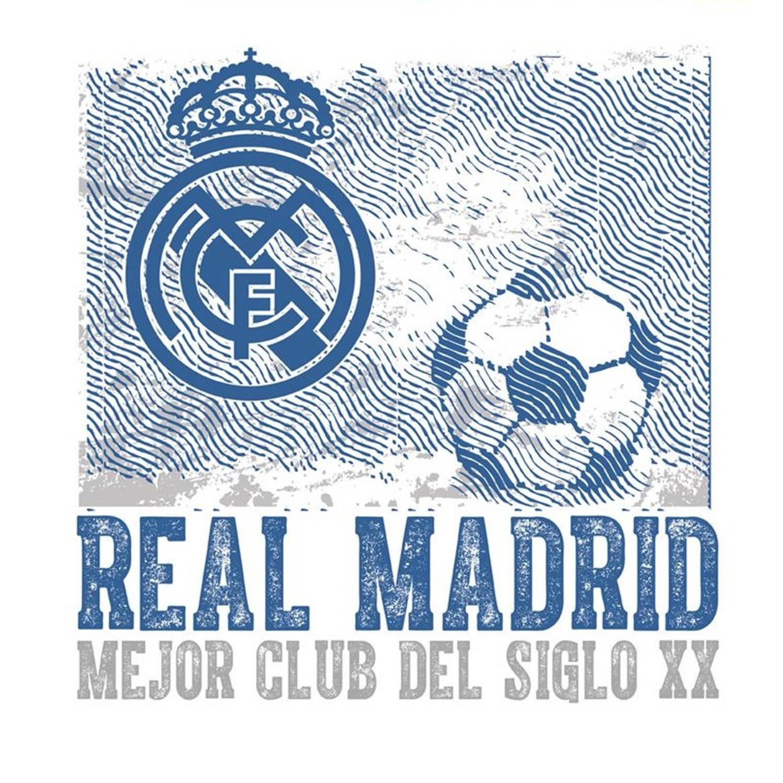 Real Madrid muursticker logo vintage 2 stickervellen