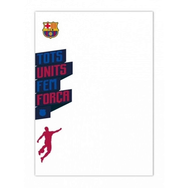 FC Barcelona whiteboard muursticker staand 50 x 70 cm