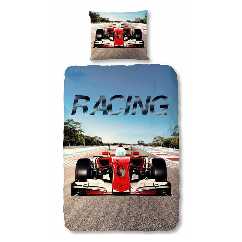 Good Morning Racing dekbedovertrek - Junior (120x150 cm + 1 sloop)