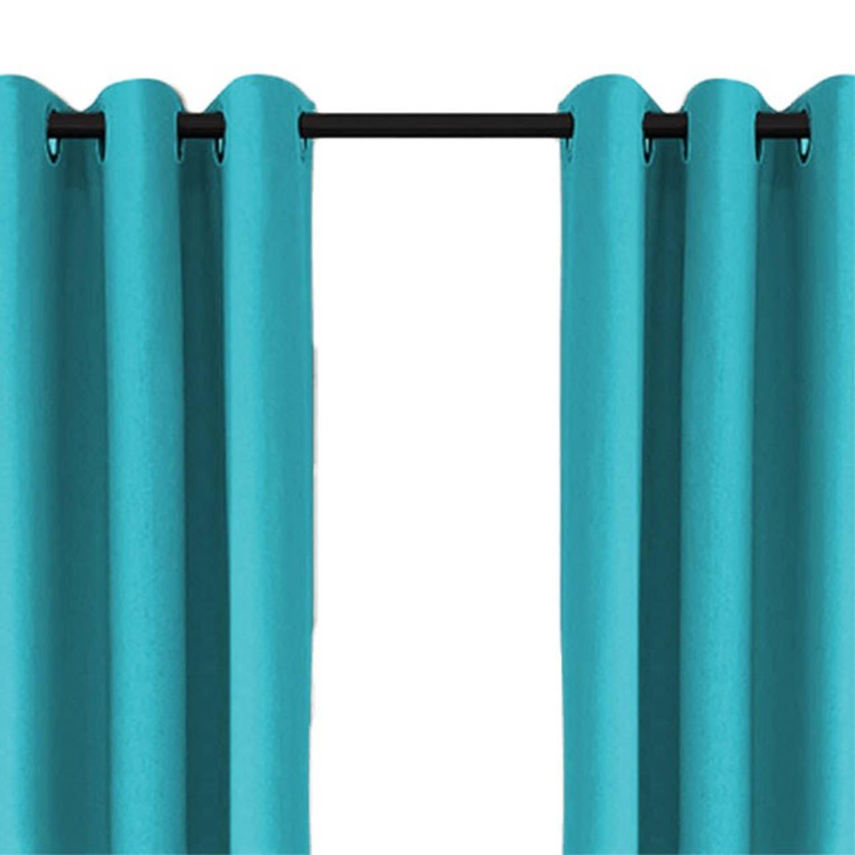 Larson Luxe Verduisterend Gordijn Met Haken 150x250 Cm Turquoise