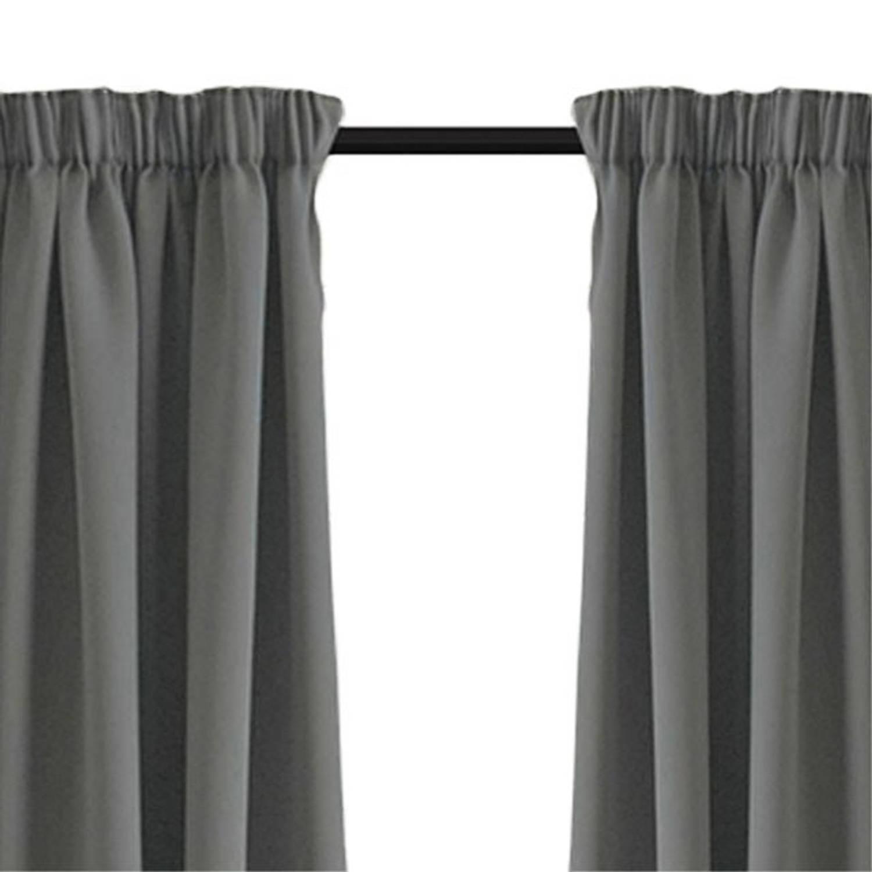 Larson Luxe Verduisterend Gordijn Met Haken 150x250 Cm Grey