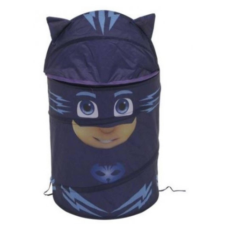 Disney uitklapbare opbergbox PJ Masks blauw 40 x 70 cm