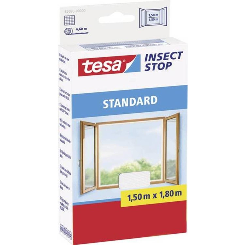 Tesa vliegenhor standaard voor ramen (l x b) 1500 mm x 1800 mm Wit