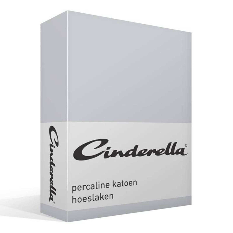 Cinderella Basic percaline katoen hoeslaken - 1-persoons (70x200 cm)