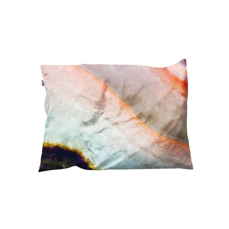 Snurk Beddengoed SNURK Macro Mineral kussenhoes - 100% katoen velours - 35x50 cm - Multi, Pink