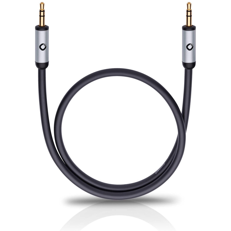 Oehlbach I-Connect 3,5mm jack aansluitkabel 0.50 zwart