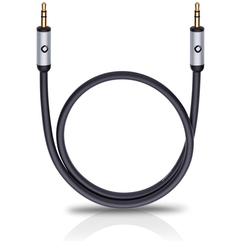 Oehlbach I-Connect 3,5mm jack aansluitkabel 1.50 zwart