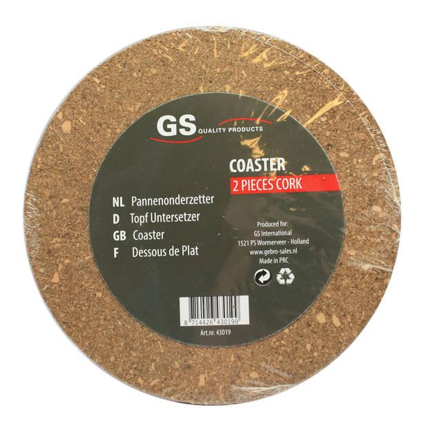 Onderzetter kurk 2 stuks Ø18cm