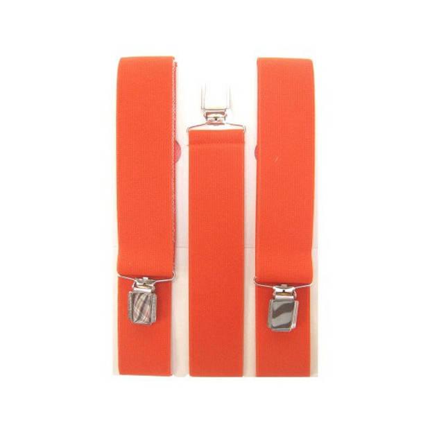Oranje bretels volwassenen - oranje fan artikelen accessoires