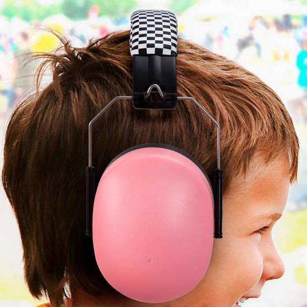 Alecto BV-71RE gehoorbeschermer voor kinderen - roze