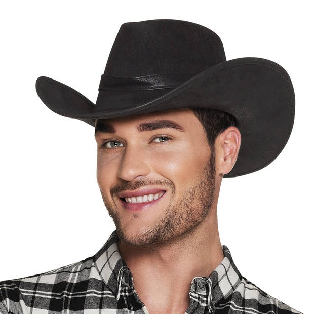 Boland hoed Wyoming heren zwart one size