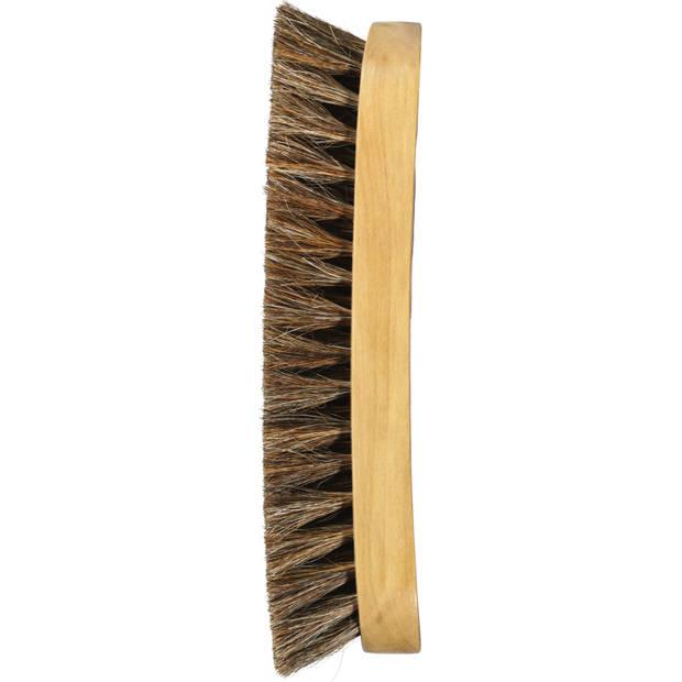 Blokker houten schoenborstel groot