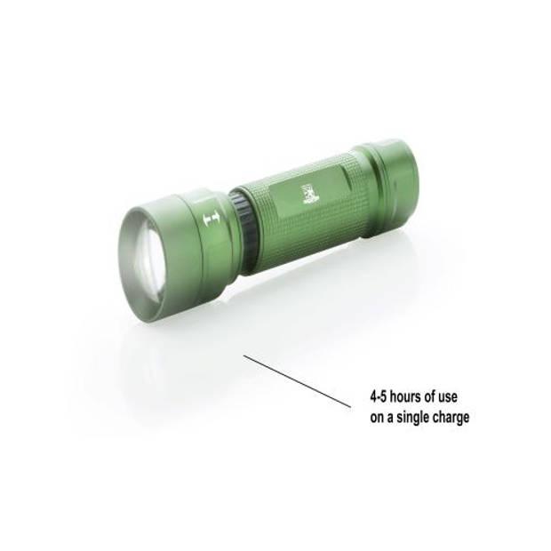 MacGyver 'Recharge' Oplaadbare USB Zaklamp 5W CREE® LED-lamp 250 Lumen 16 cm Regenbestendig