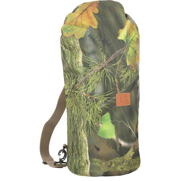 MacGyver rugzak FP polyester 30 liter groen/bruin