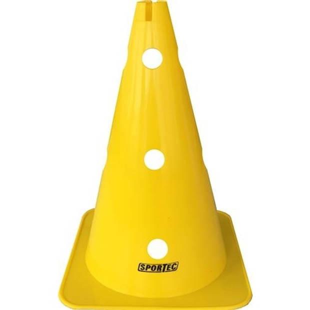 Sportec pion 40 cm geel