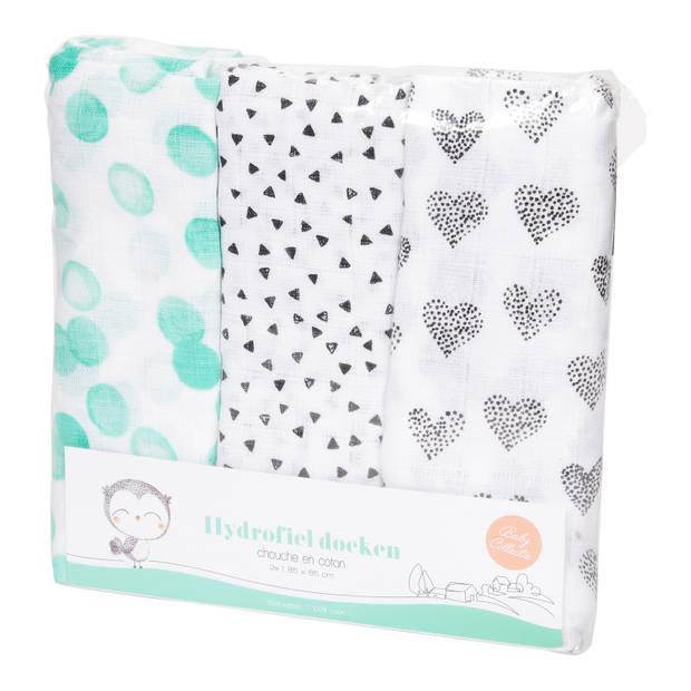 Baby Hydrofieldoek - 3 Pack