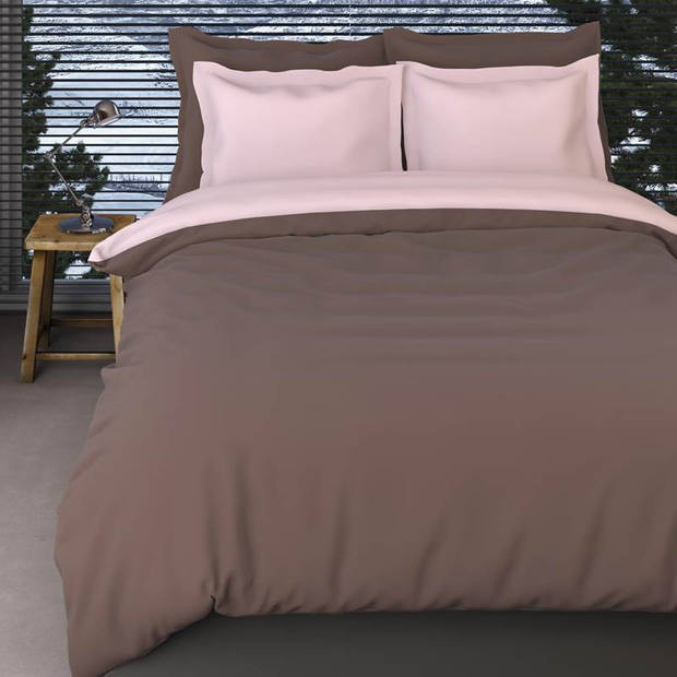 Romanette Comtesse flanel dekbedovertrek - Lits-jumeaux (240x200/220 cm + 2 slopen)
