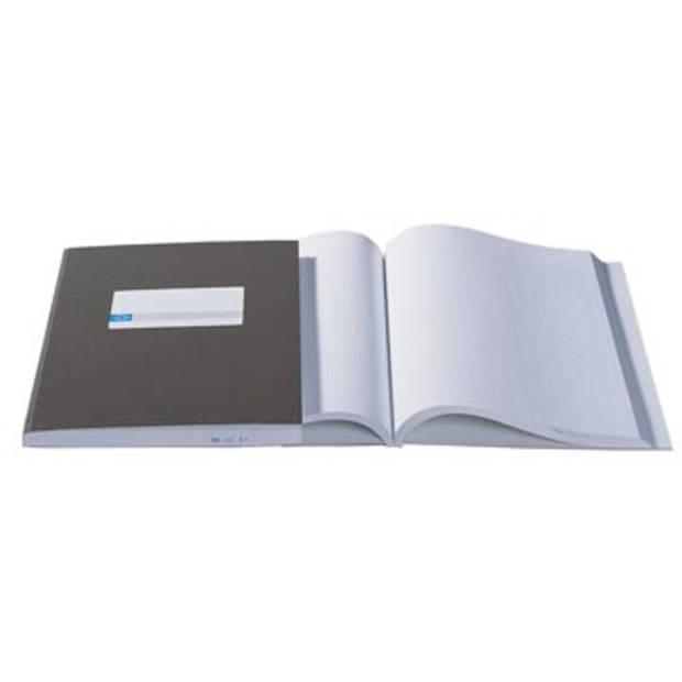 Atlanta by Jalema kasboeken 2 x 1 kolom, kleur: blauw