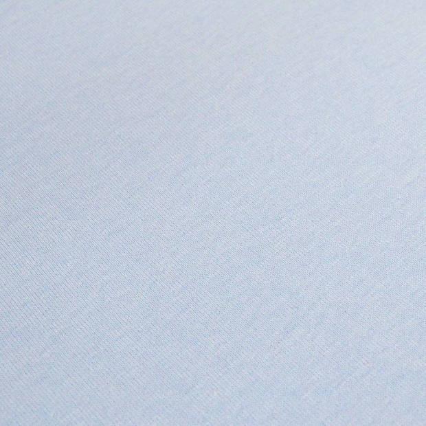 Snoozing - Flanel - Laken - Eenpersoons - 150x260 - Hemel