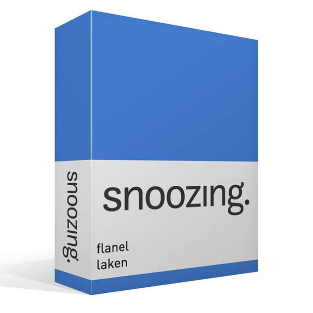 Snoozing - Flanel - Laken - Eenpersoons - 150x260 - Meermin