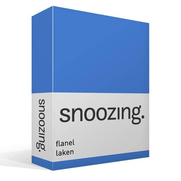 Snoozing - Flanel - Laken - Tweepersoons - 200x260 - Meermin