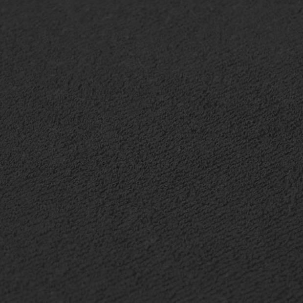 Snoozing - Flanel - Laken - Eenpersoons - 150x260 - Zwart