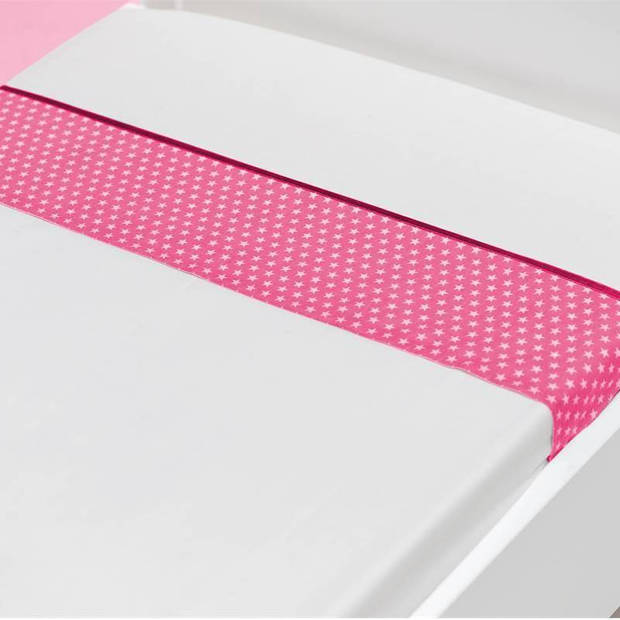 Briljant Baby Sam katoen kinderlaken - 100% katoen - Wiegje (75x100 cm) - Roze