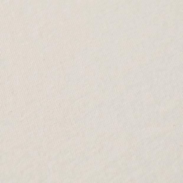 Snoozing - Flanel - Laken - Eenpersoons - 150x260 - Ivoor