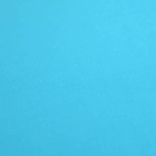 Snoozing - Laken - Katoen - Eenpersoons - 150x260 - Turquoise