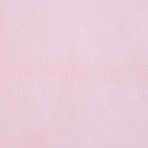 Snoozing - Laken - Katoen - Lits-jumeaux - 240x260 - Roze