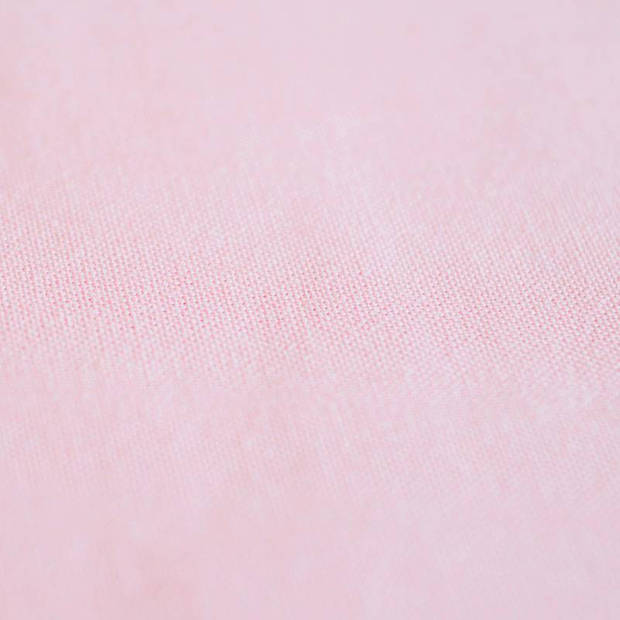 Snoozing - Laken - Katoen - Eenpersoons - 150x260 - Roze
