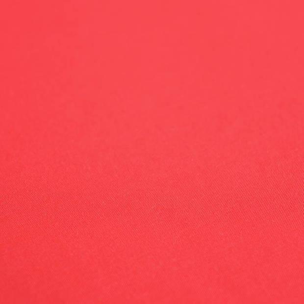 Snoozing - Laken - Katoen - Eenpersoons - 150x260 - Rood