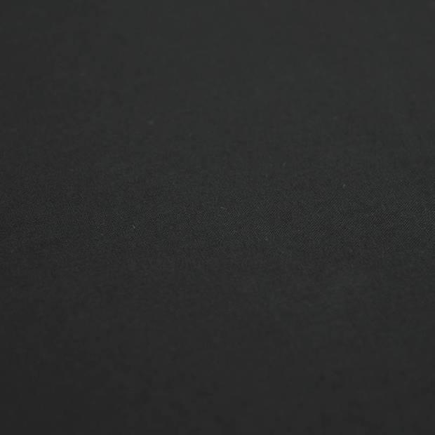 Snoozing - Laken - Katoen - Eenpersoons - 150x260 - Zwart