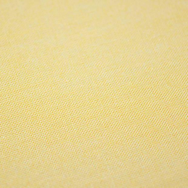 Snoozing - Laken - Katoen - Eenpersoons - 150x260 - Geel