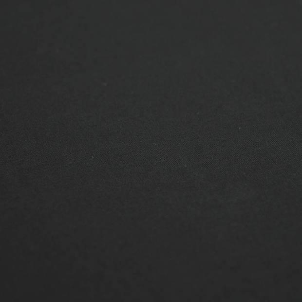 Snoozing - Laken - Tweepersoons - Percale katoen - 200x260 - Zwart