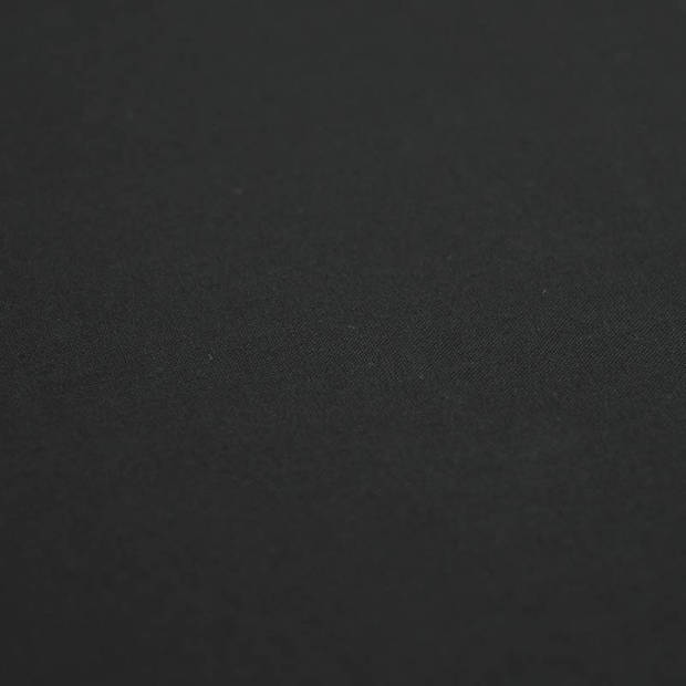 Snoozing - Laken - Lits-jumeaux - Percale katoen - 240x260 - Zwart