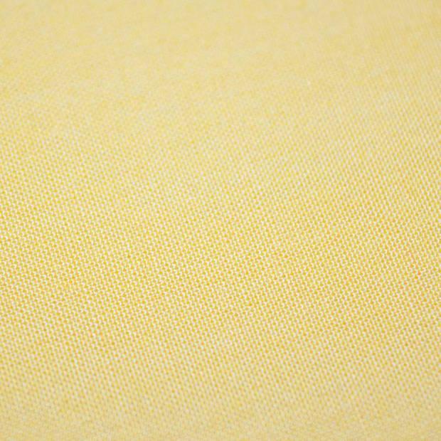 Snoozing - Laken - Tweepersoons - Percale katoen - 200x260 - Geel